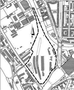 Änderung Flächennutzung Alter Leipziger Bahnhof