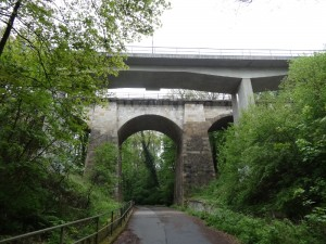 Eisenbahnbrücke Nesselgrund