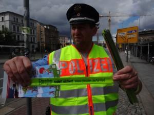 Polizei Fahrradkontrolle Elko Reißig