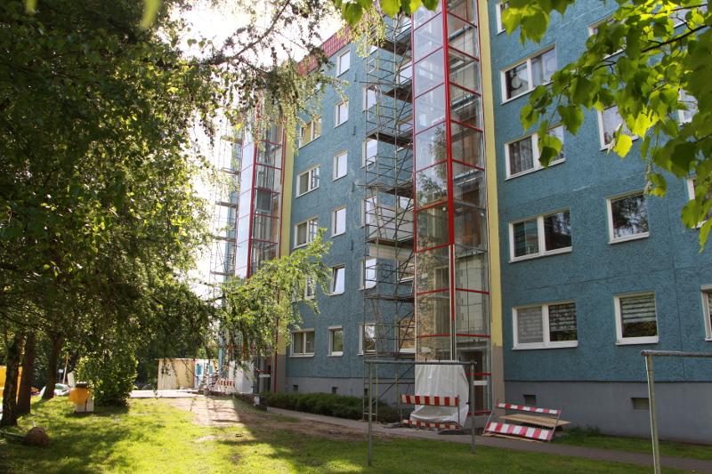 Aufzugsanbau Bulgakowstraße