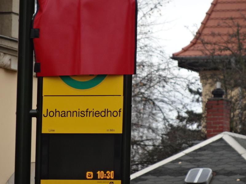 Wehlener Straße 1211 haltestelle