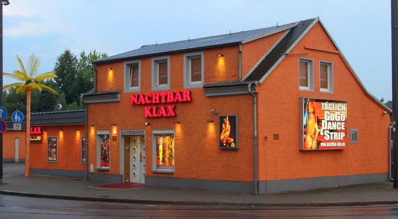 An Der Leipziger Strasse Nicht Zu Ubersehen Nachtbar Klax