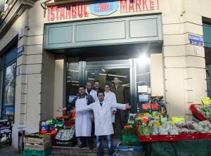 In der Oschatzer Straße gibt es jetzt einen türkischen Lebensmittelladen. Foto: M. Arndt