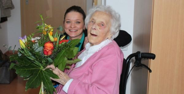 Erna Kühne 105 Geburtstag