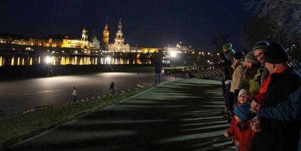 So hat Dresden am 13. Februar der Kriegsopfer gedacht