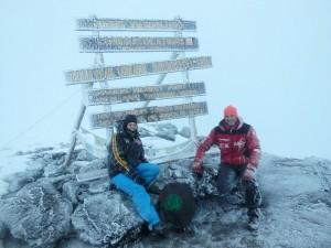 Um 20 Uhr berichten Robert Mittag und Melanie Wirth im Elternhaus des Sonnenstrahl e.V. mit einem Bildervortrag über ihre außergewöhnliche Besteigung des Kilimandscharo. Foto: Robert Mittag