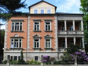 Das Elternhaus in der Goetheallee 13 kann am 15. Februar besichtigt werden. Foto: Sonnenstrahl e.V.