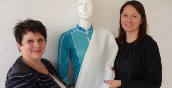 Modedesign-Professorin Katerina Machova erfindet innovativen UV-Schutz-Stoff