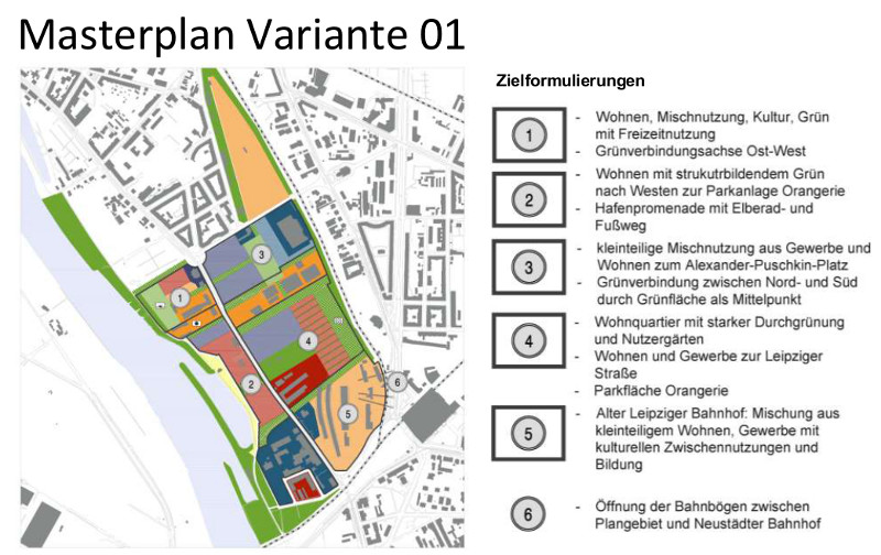 masterplan variante 1